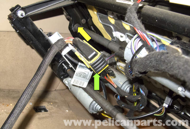 Bmw Seats Replacement : Bmw seat removal e pelican parts diy