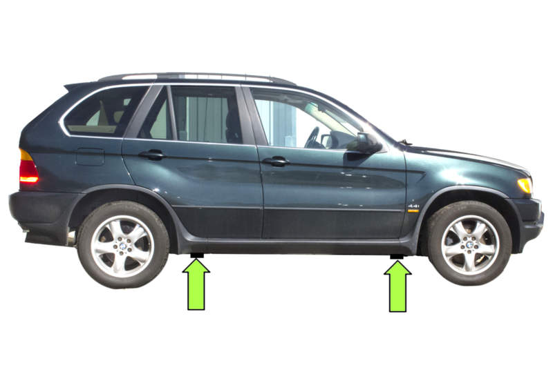 How To Jack Up Bmw X5 Autos Post