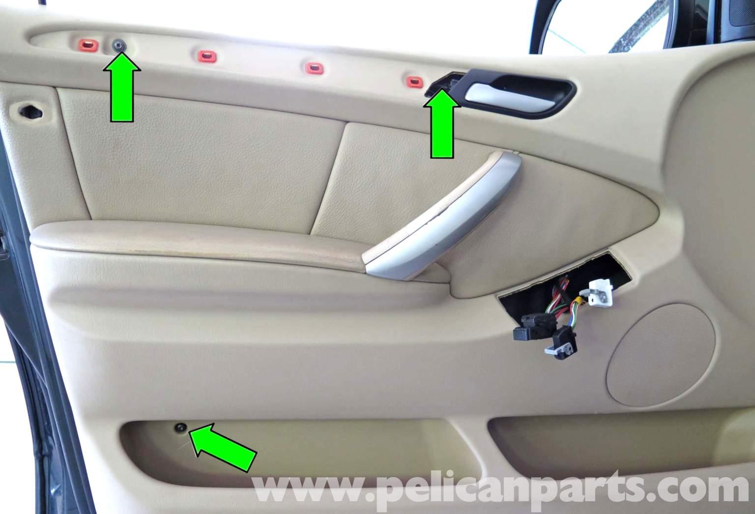 Pelican Technical Article Bmw X5 Door Panel Replacement