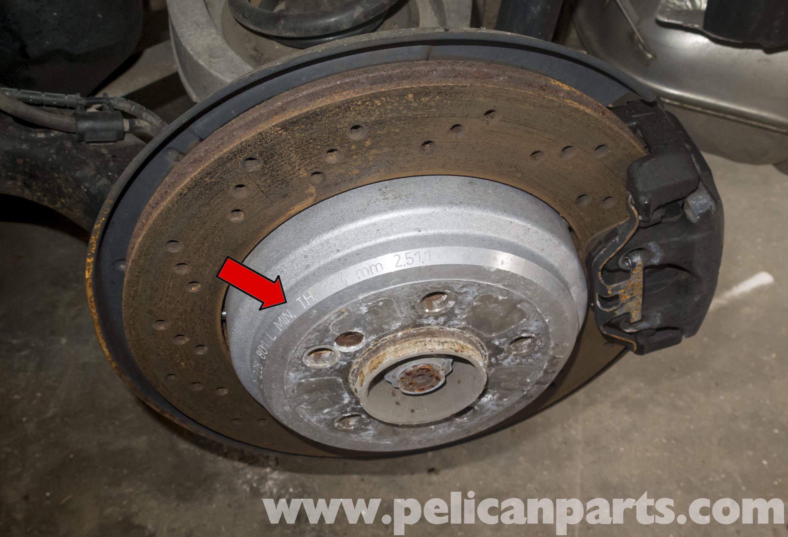 Pelican Technical Article Bmw Z4m Brake Rotor Replacement