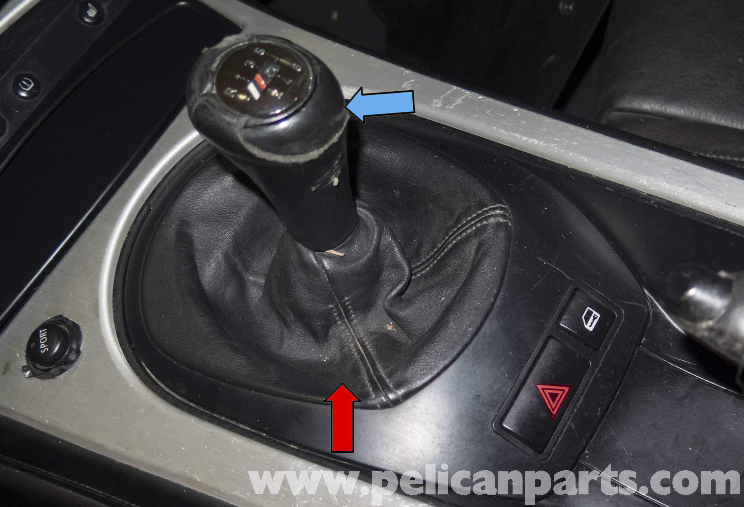 Pelican Technical Article Bmw Z4m Shift Knob And Boot Replacement