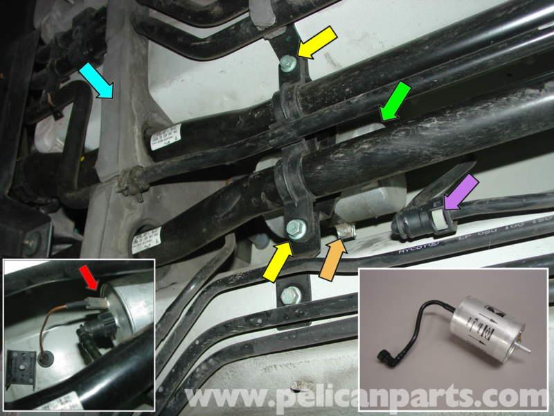 Porsche Boxster Fuel Filter Replacement 986 987 199708 Rhpelicanparts: Fuel Filter Replacement Porsche At Gmaili.net