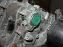 Place a new camshaft end cover onto the end of the camshaft.