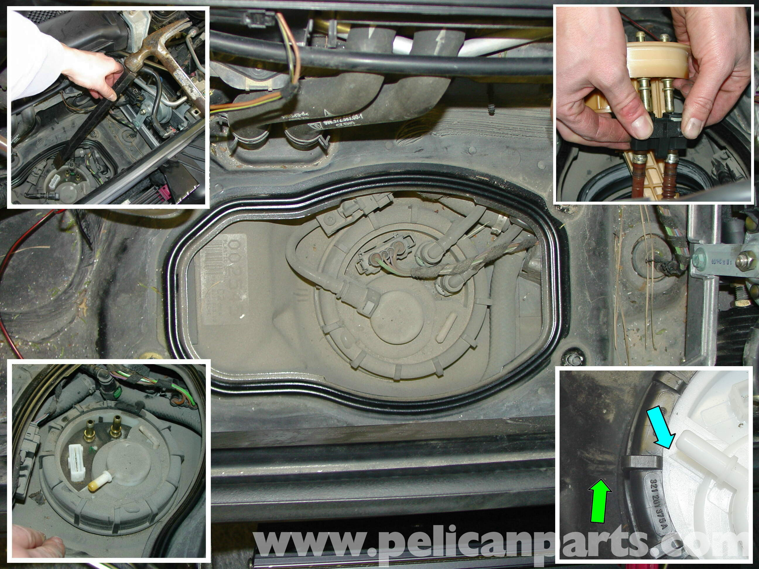 porsche boxster fuel pump replacement   987  1997