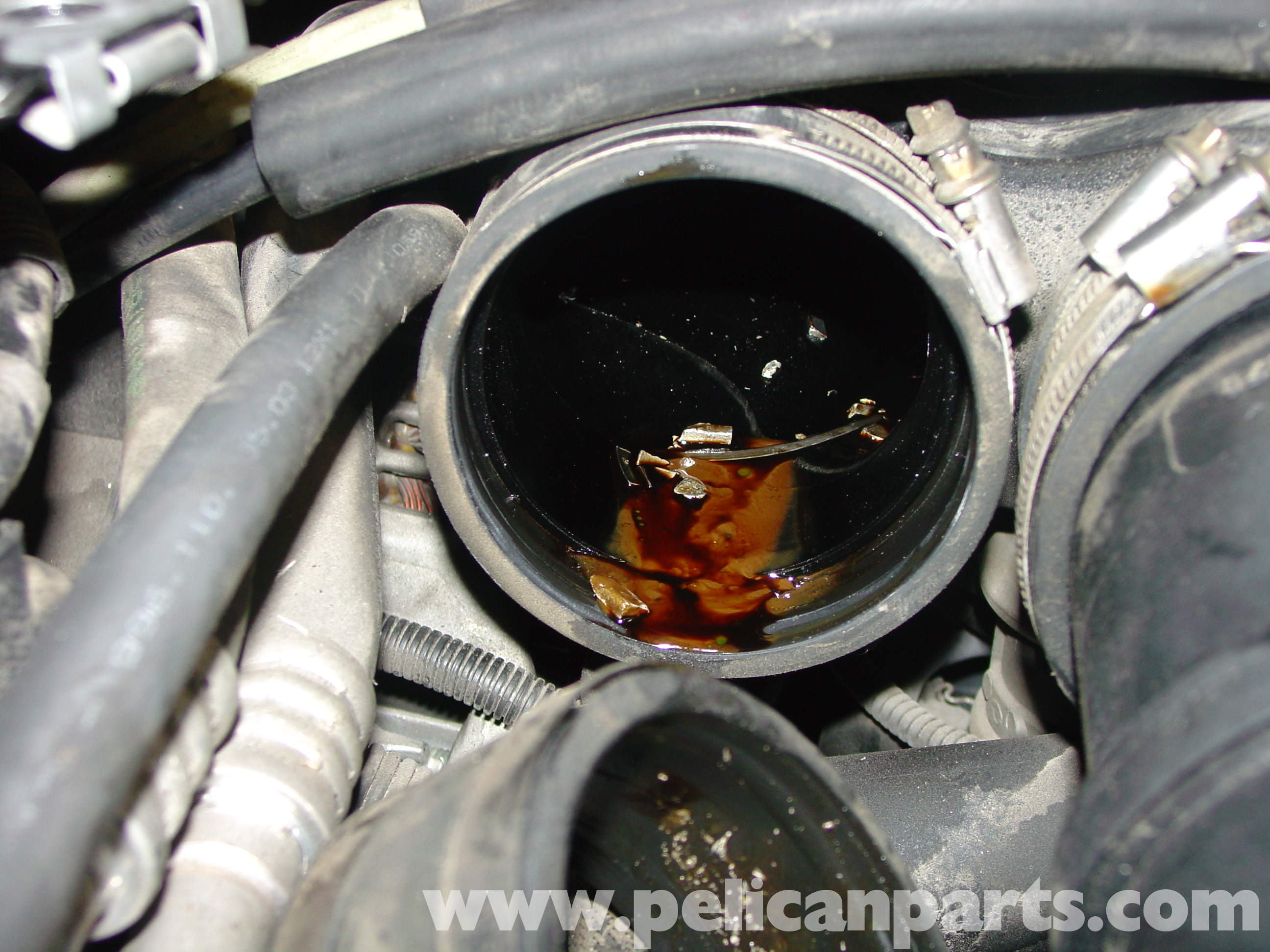 Porsche Boxster Throttle Body Replacement Cleaning
