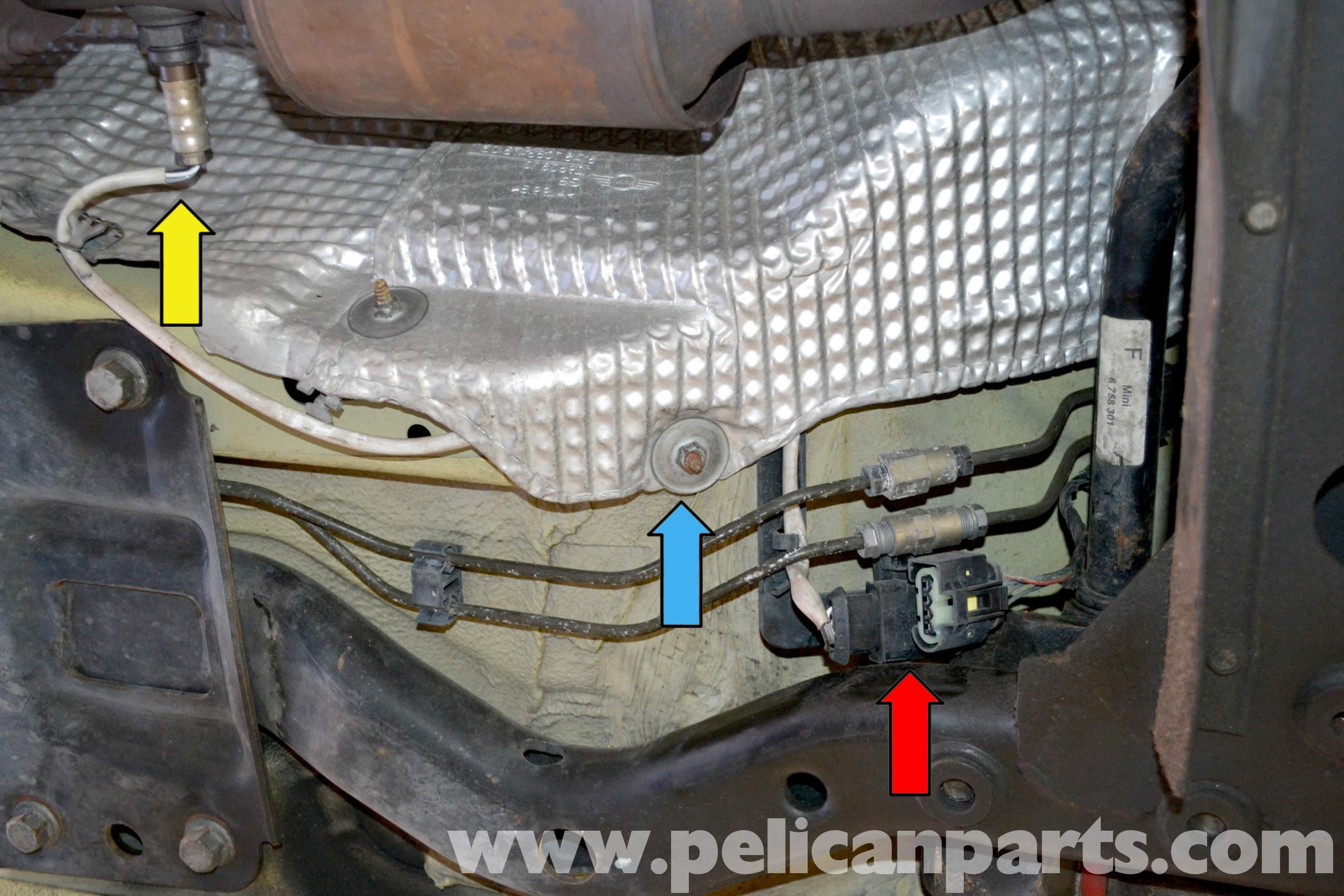Pelican Technical Article - Mini-R53 - Oxygen Sensor Replacement