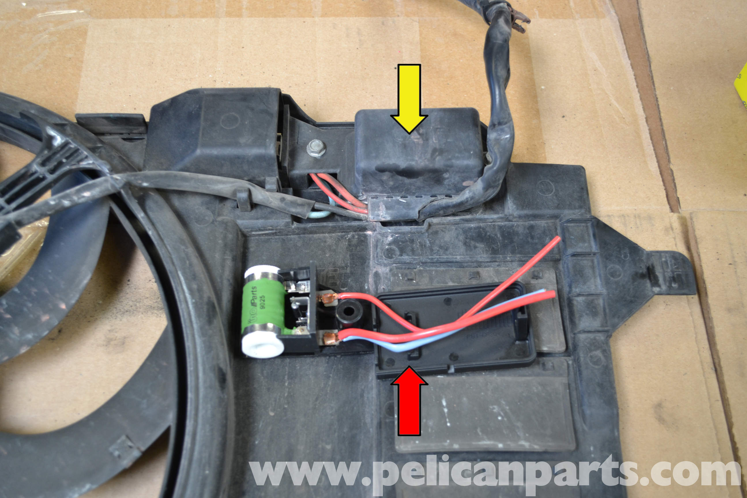 Pelican Technical Article - Mini-R53 - Cooling Fan Resistor ... on
