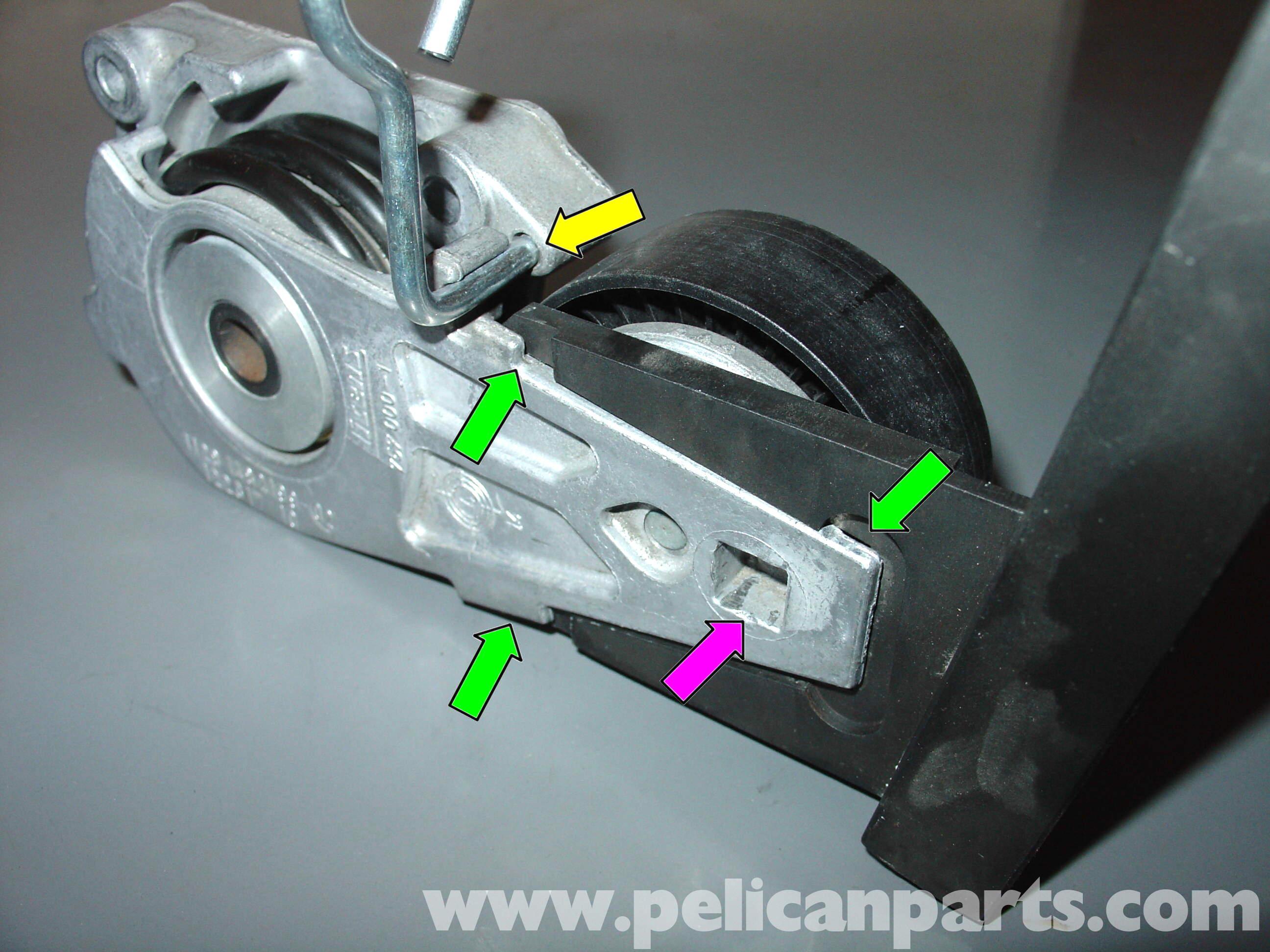 pelican technical article mini cooper serpentine belt replacement rh pelicanparts com