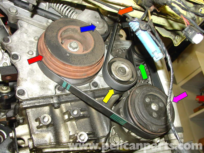 Mini Cooper Serpentine Belt Replacement  R50  R52  R53 2001