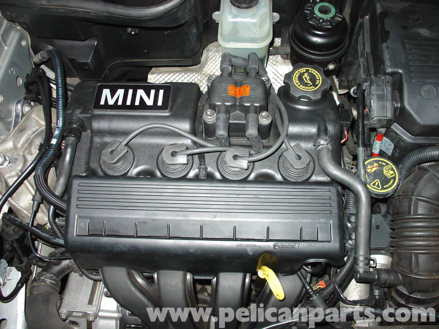 2004 Mini Cooper Engine Diagram Wiring Diagrams 2006 Compartment Saab 9 3 Spark Plug Free Bay