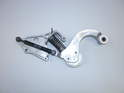 Shown here is a new serpentine belt tensioner assembly.