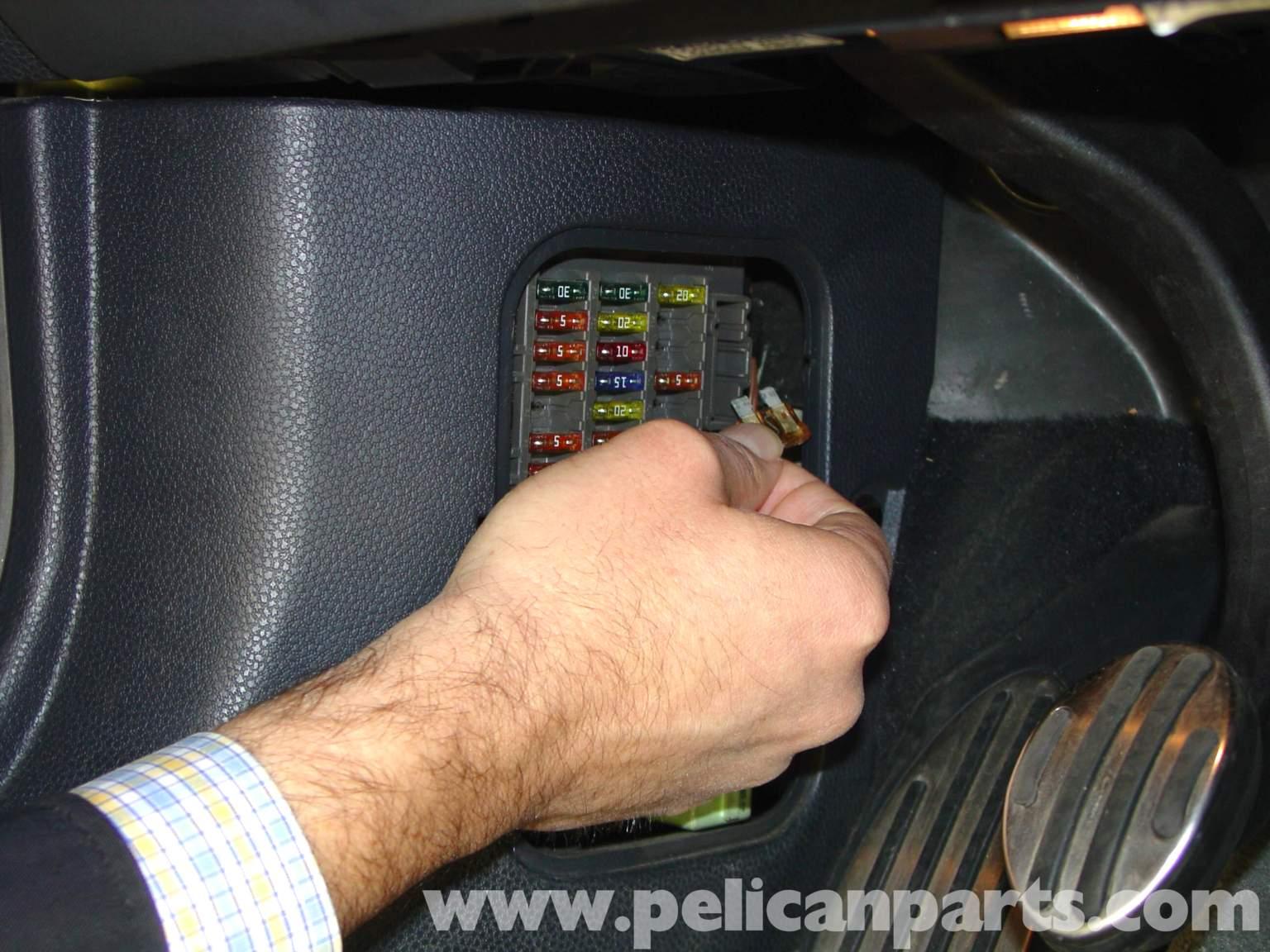 Pelican Technical Article Installing Performance Software R50 Mercury  Mariner Fuse Box Pelican Parts Mini Cooper Fuse Box