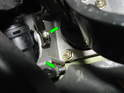 Here is a shot of the clutch master cylinder viewed from the other side.