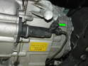 ThisPicture shows the clutch slave cylinder on the later R55/R56/R57 models.