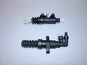 Shown here are a new clutch master and slave cylinder for the MINI Cooper S.