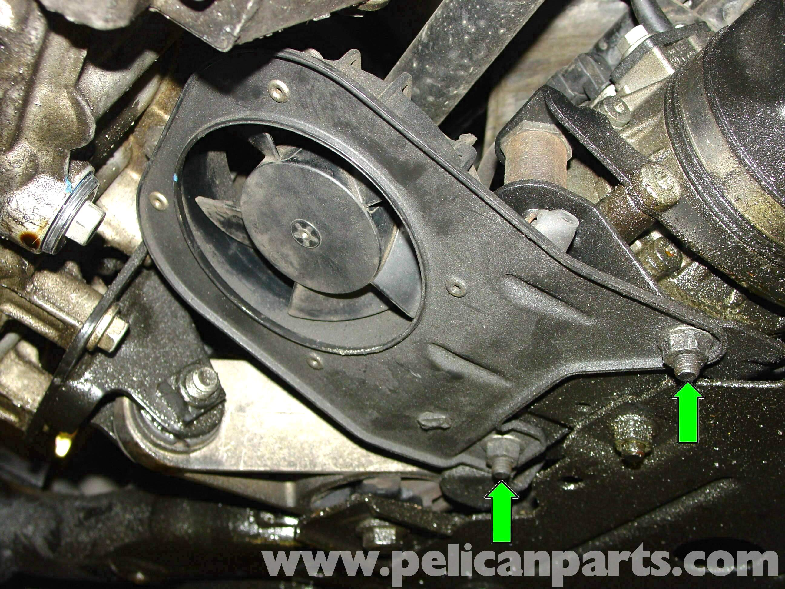 pic04 pelican technical article power steering pump replacement r50 Mini Cooper Transmission Wiring Harness at bakdesigns.co