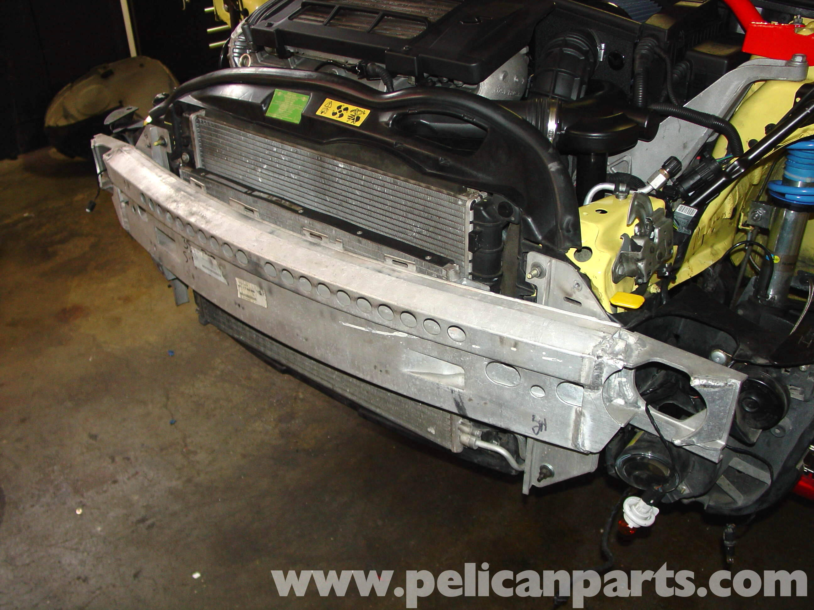 Pelican Technical Article Front Bumper Removal R50 Mini Cooper 2005 Volvo Xc90 Engine Diagram Large Image Extra