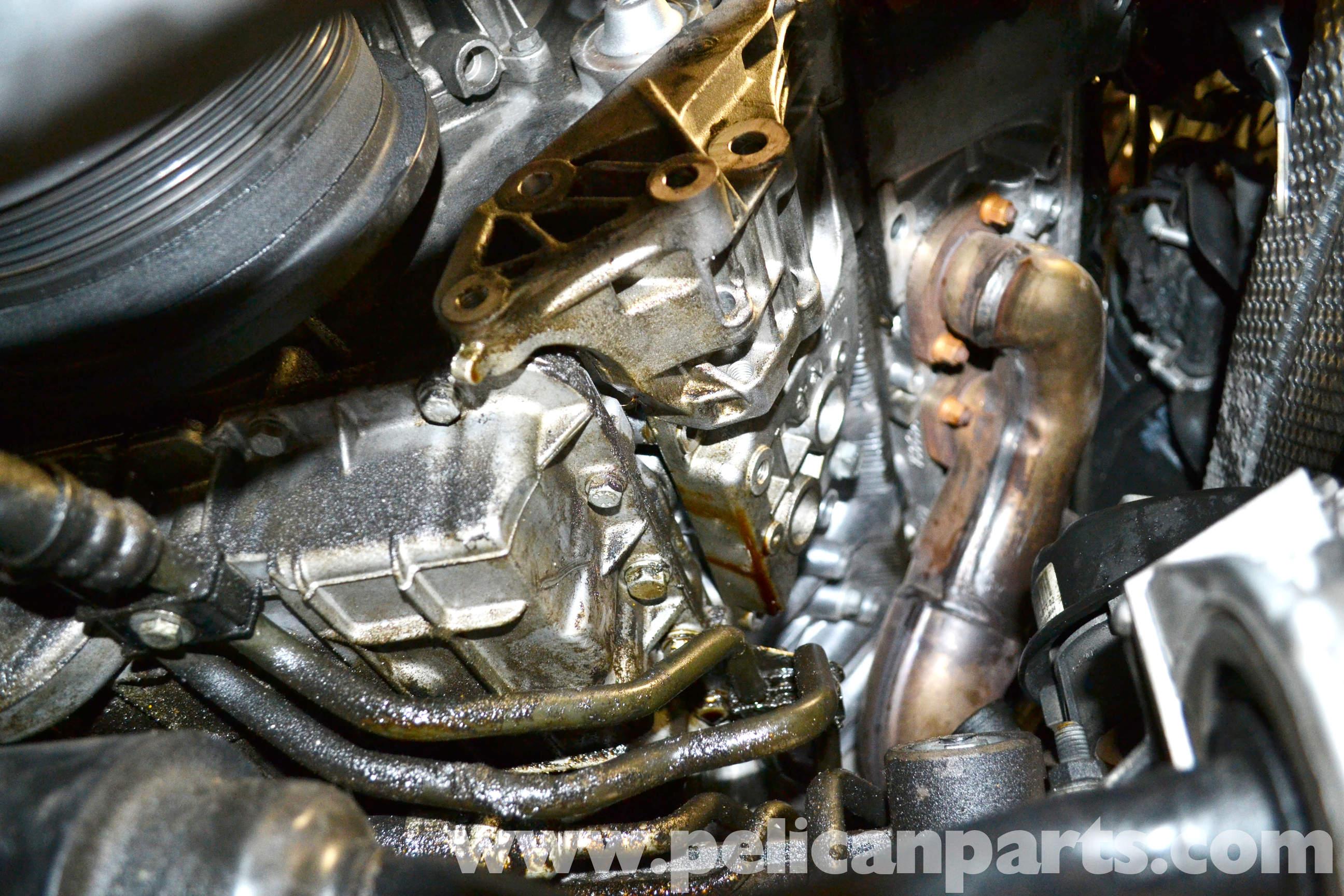 The Infamous Alternator Bracket Oil Leak On The E65 Bmw 7