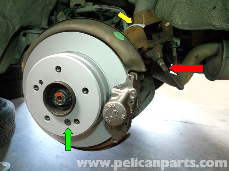 Mercedes benz 190e rear rotor and caliper replacement for Mercedes benz rotors replacement