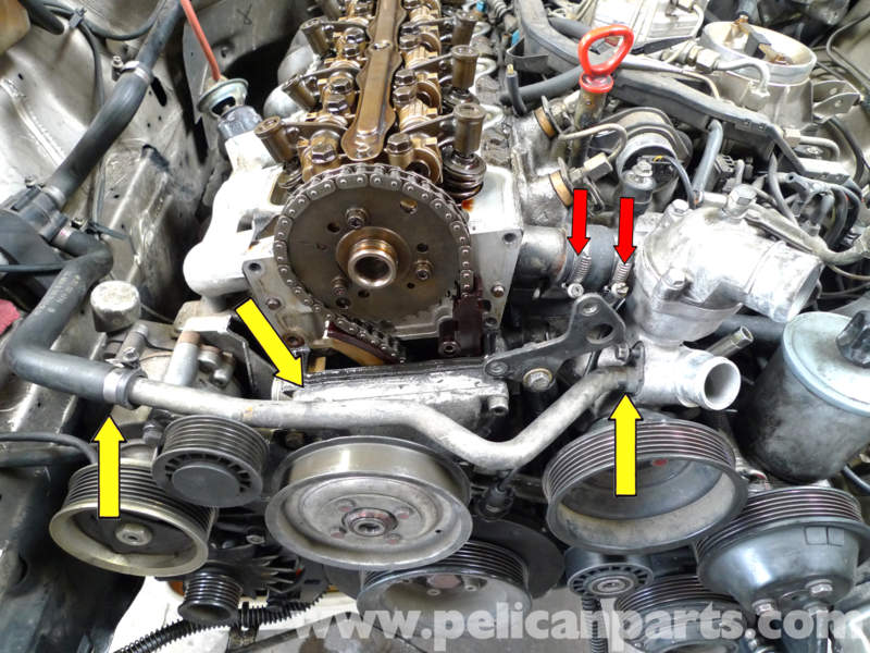 Mercedes Benz 190e Head Gasket Replacement W201 1987
