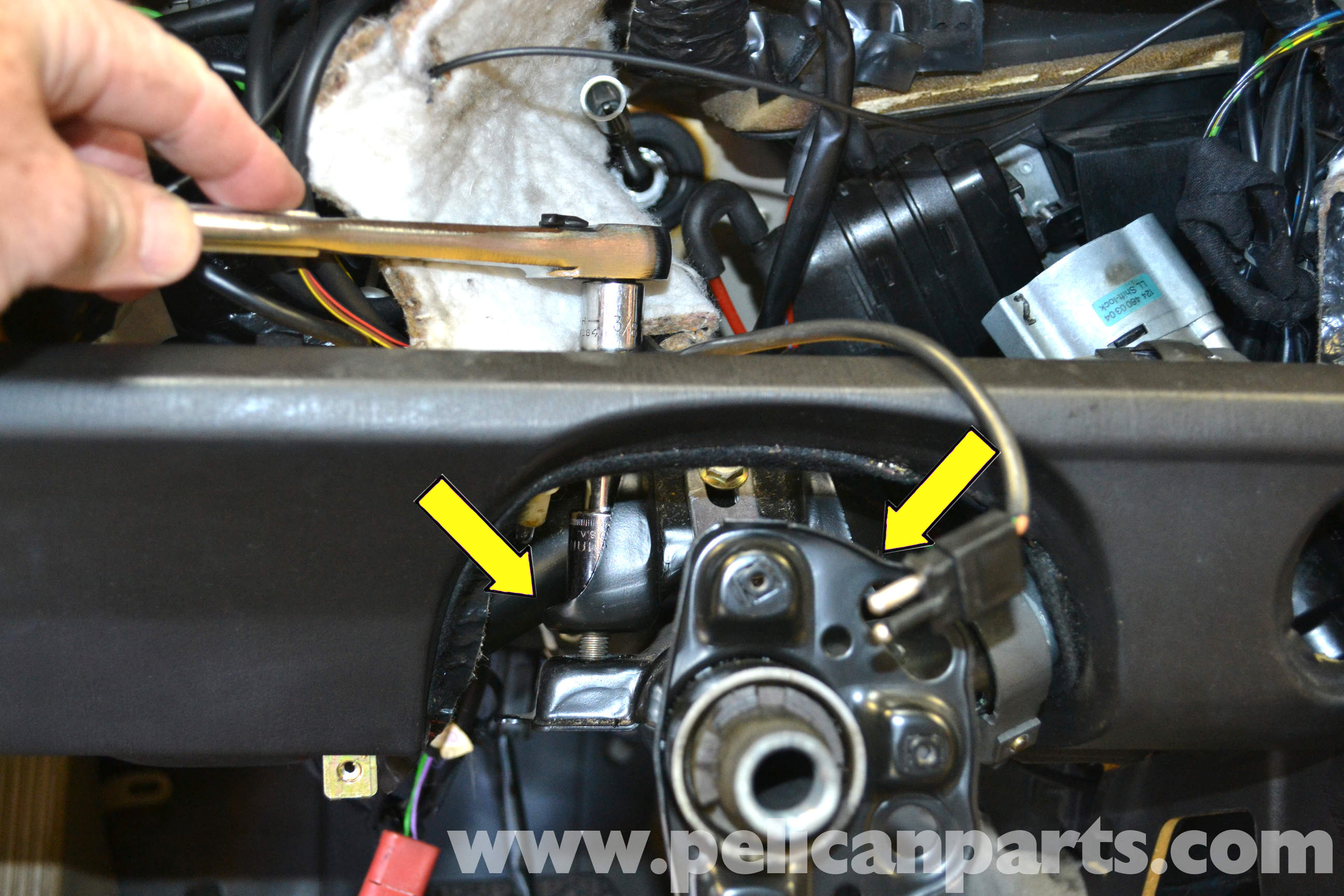 48 BODY Replacing Your Ignition Switch and Lock on 1997 saab ignition switch