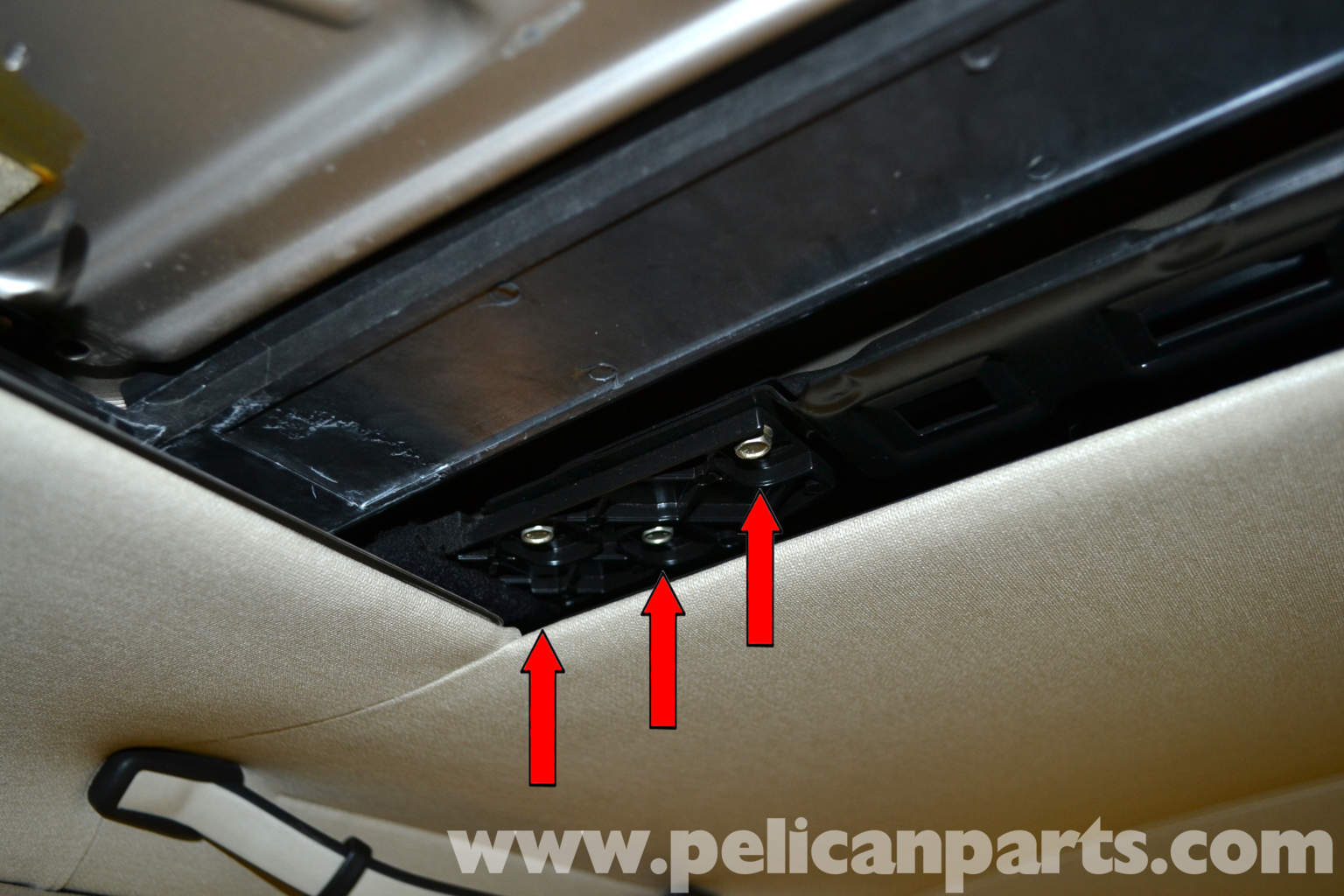 Mercedes benz 190e sunroof panel removal and replacement for Mercedes benz sunroof repair