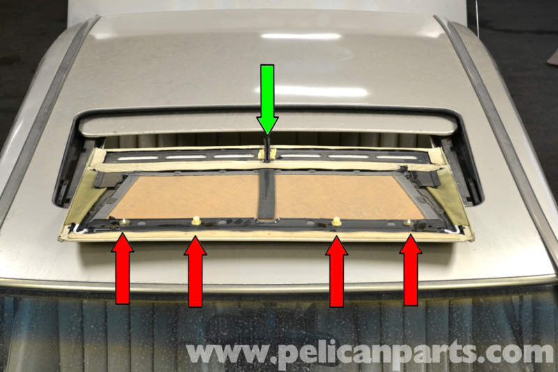 Mercedes w123 sunroof repair for Mercedes benz sunroof repair