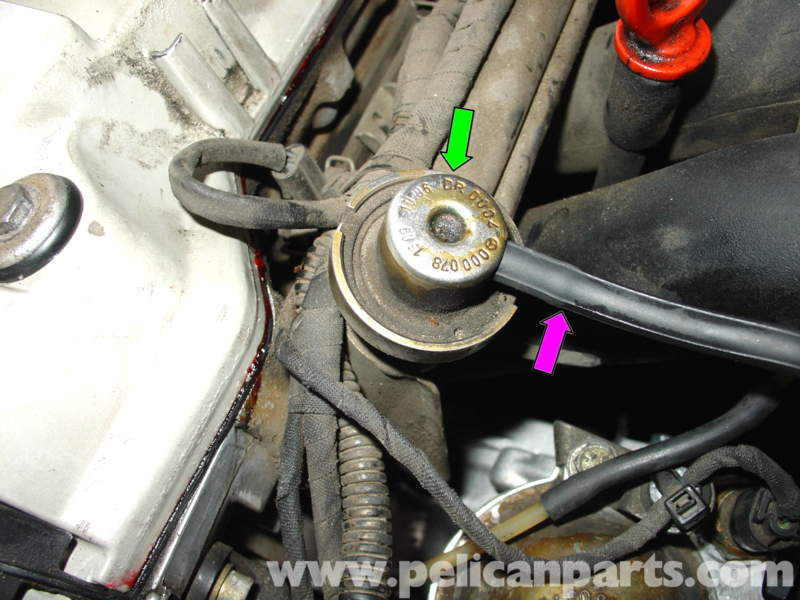 Mercedes Benz W210 Fuel Pressure Regulator Replacement