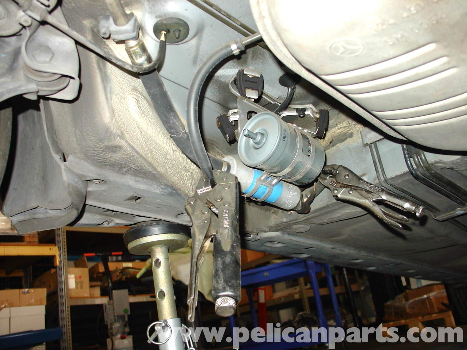 1981 380sl fuse diagram mercedes benz w210 fuel filter replacement  1996 03  e320  mercedes benz w210 fuel filter replacement  1996 03  e320