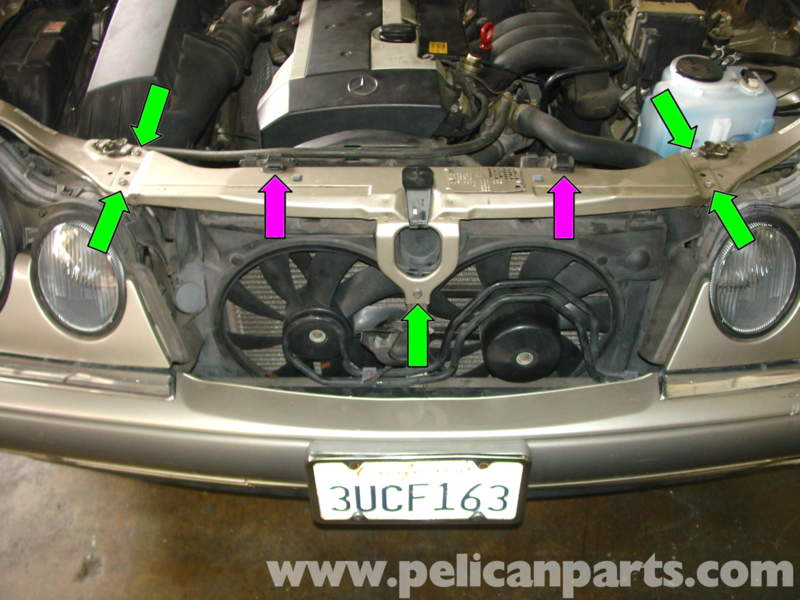 Mercedes benz w210 water pump replacement 1996 03 e320 for Mercedes benz technical support