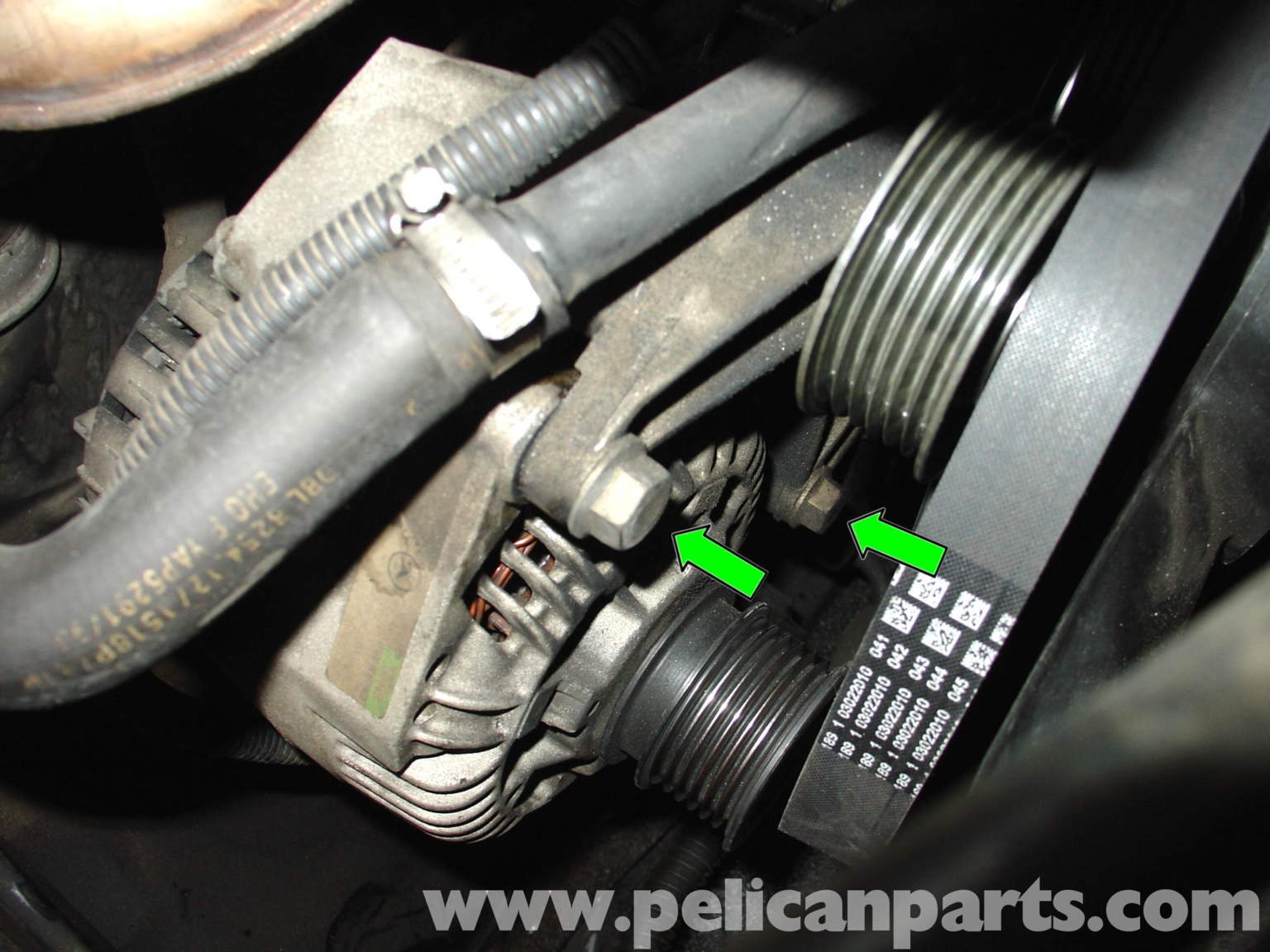 Mercedes benz w210 alternator replacement 1996 03 e320 for Mercedes benz alternator repair cost