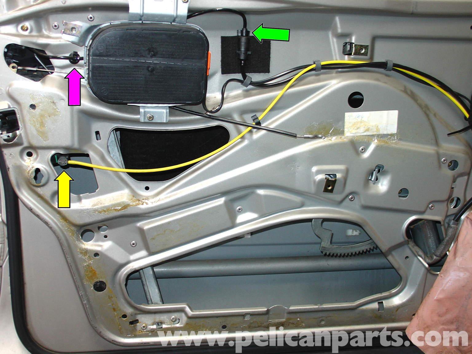 Door lock repair kit mercedes for Mercedes benz ml350 door lock actuator
