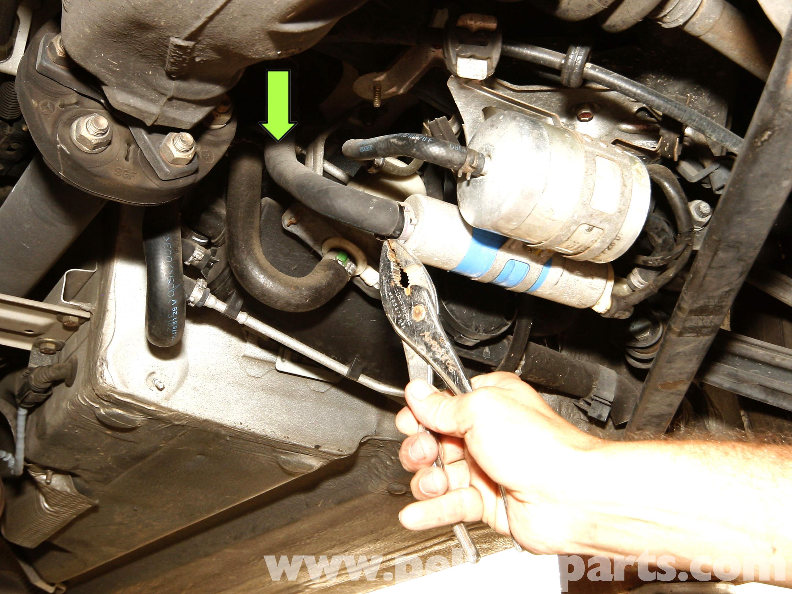 Mercedes Slk230 Fuel Filter Location Benz 1998 Ml320 4