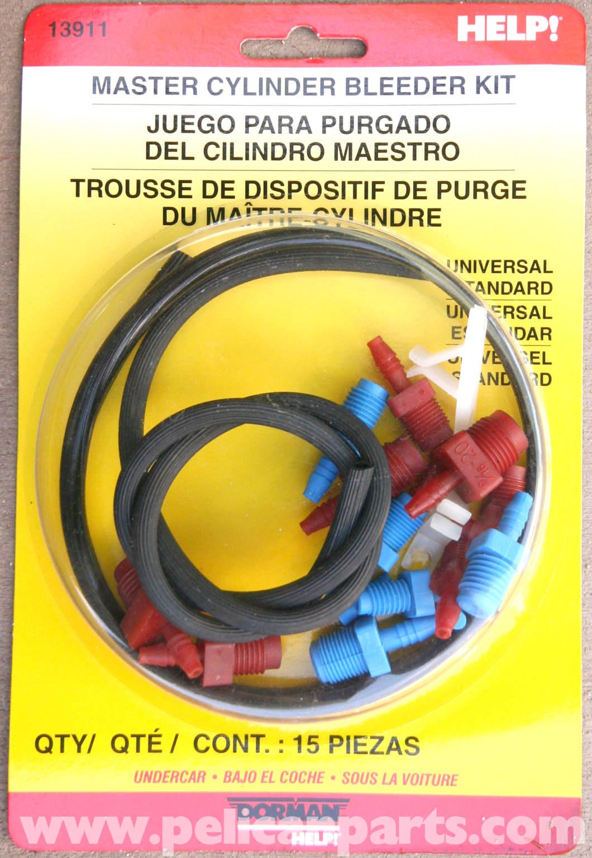 Mercedes Benz Slk 230 Brake Master Cylinder Bench Bleeding