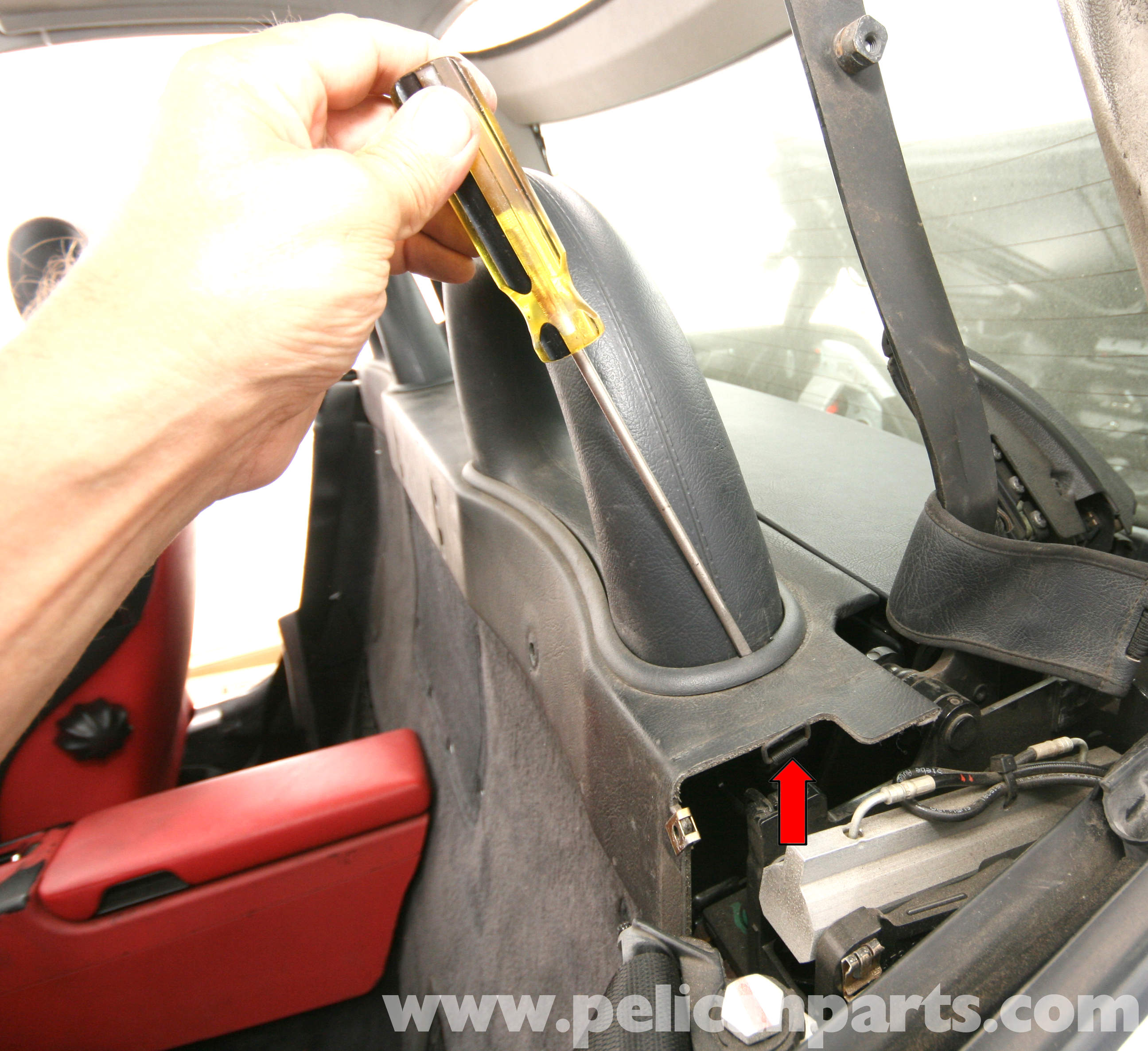 What To Know About Removing Internal Walls: Mercedes-Benz SLK 230 Interior Rear Wall Panel Removal