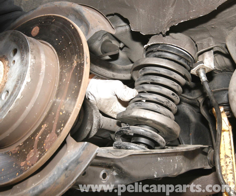 1998 Mercedes Benz Slk Class Suspension: Mercedes-Benz SLK 230 Rear Shock And Spring Replacement