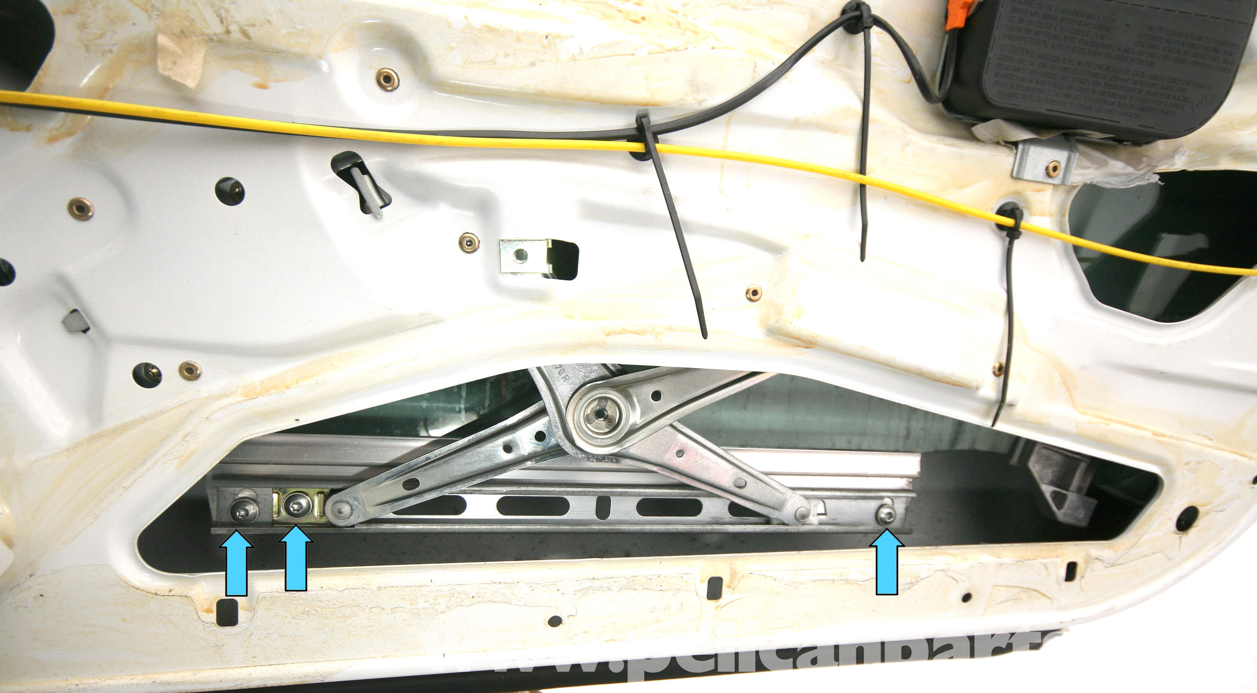 Mercedes benz slk 230 front window replacement 1998 2004 pelican parts diy maintenance article for Mercedes benz replacement parts for the interior