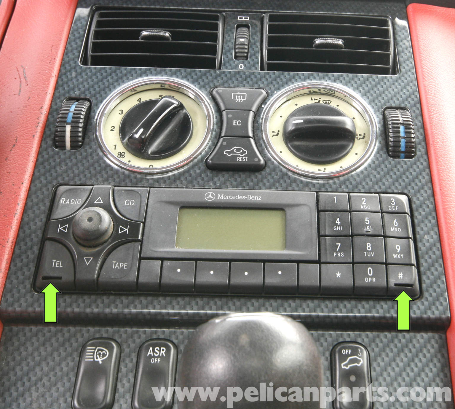 Mercedes slk230 radio code for Mercedes benz radio code