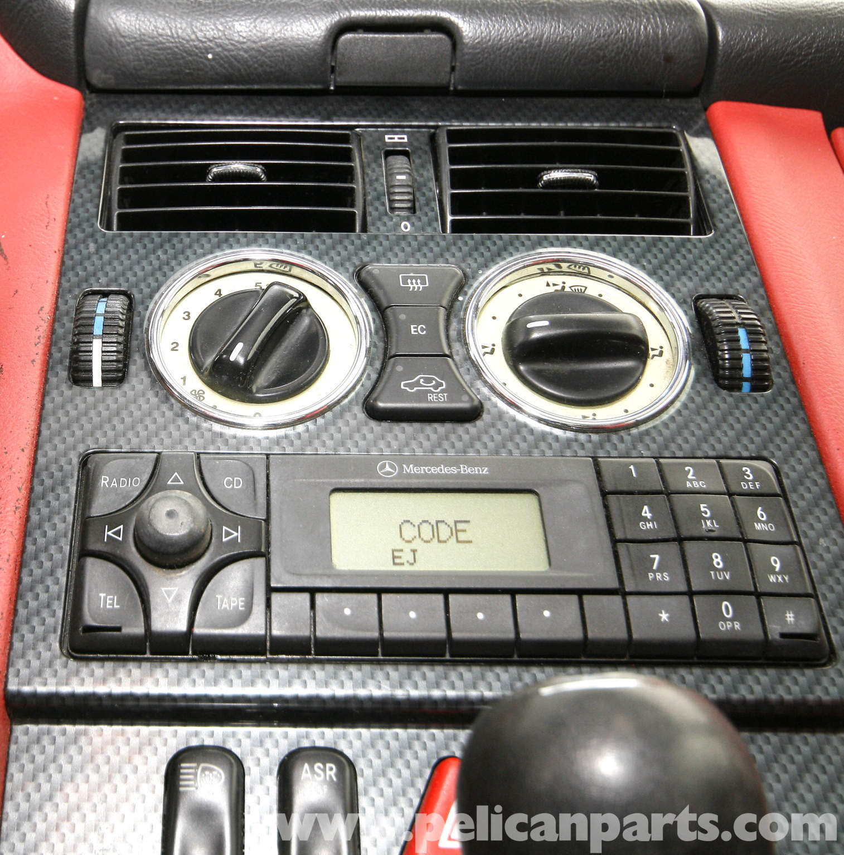 Radio code for mercedes slk230 for Code for mercedes benz radio