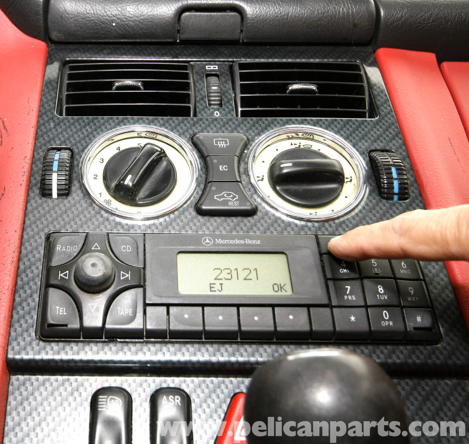 1998 Mercedes Benz Slk Class Suspension: [How To Remove Radio From A 1998 Mercedes Benz Sl Class