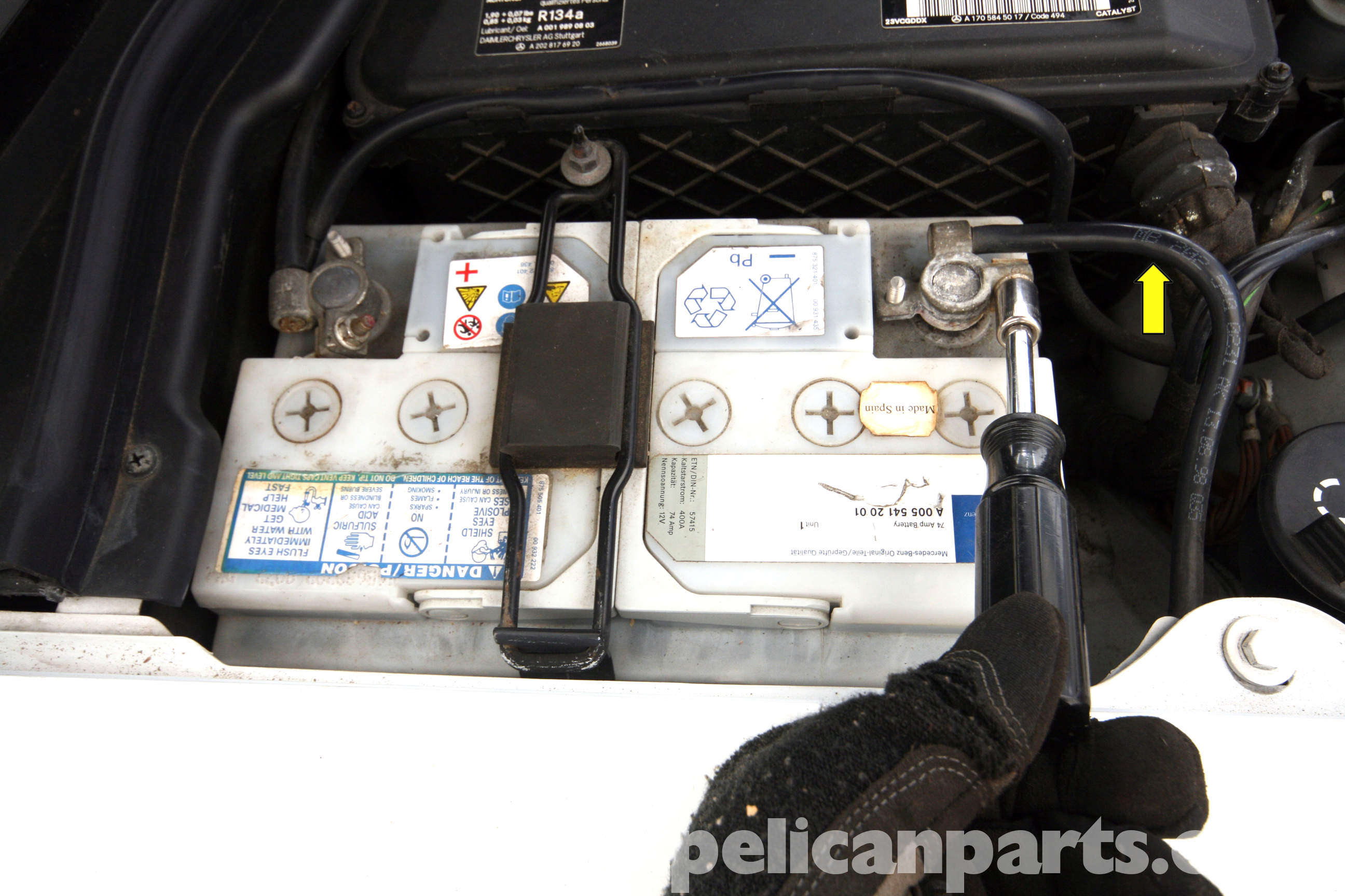Josh Grobak: Car battery replacement which terminal first
