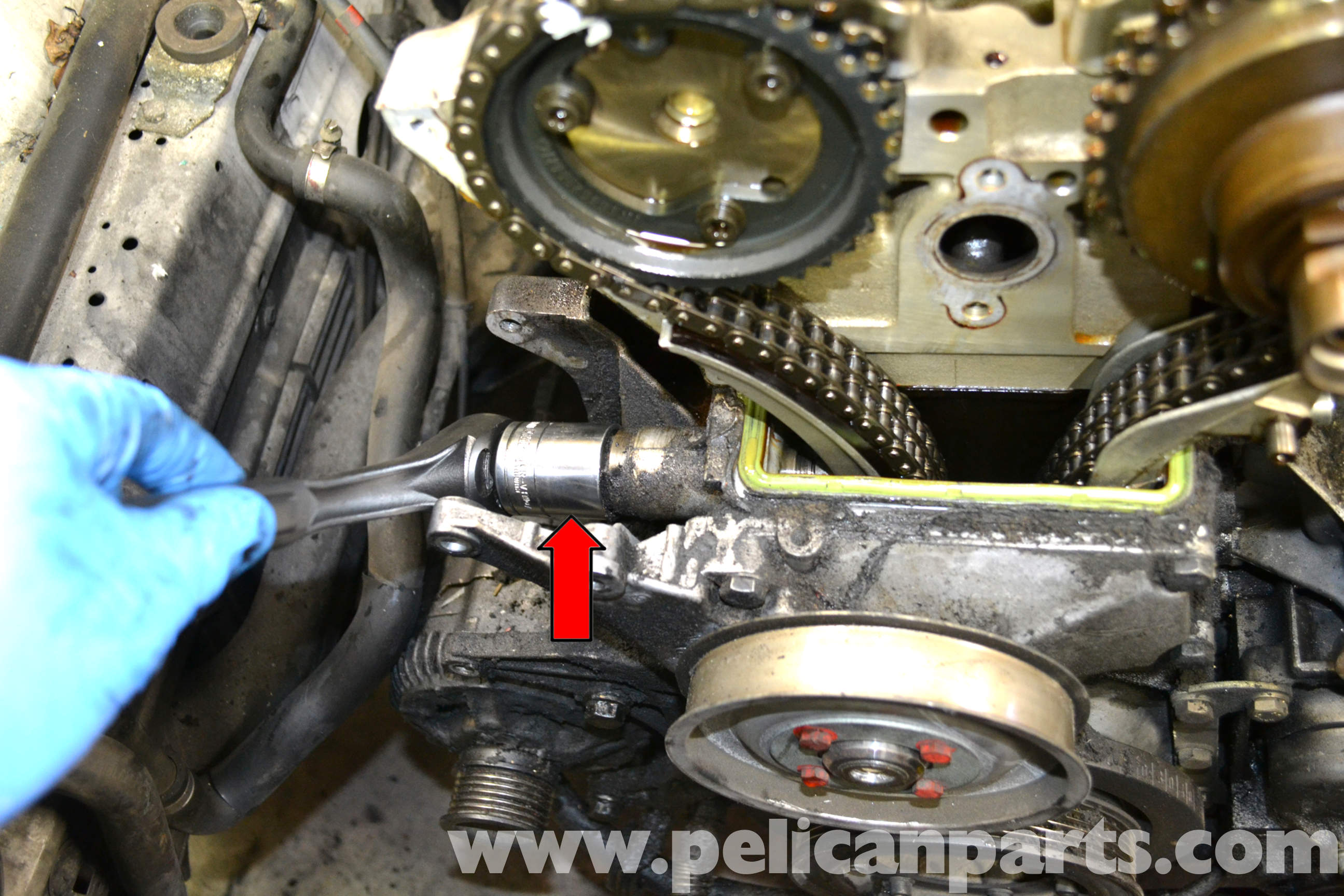 mercedes timing chain replacement