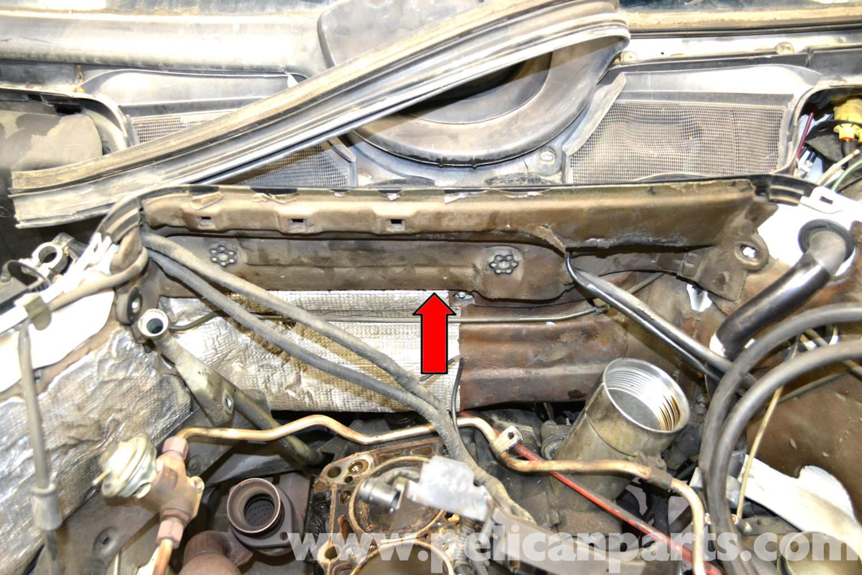 Location Of Fan Resistor On 1990 Mercedes 190e Location