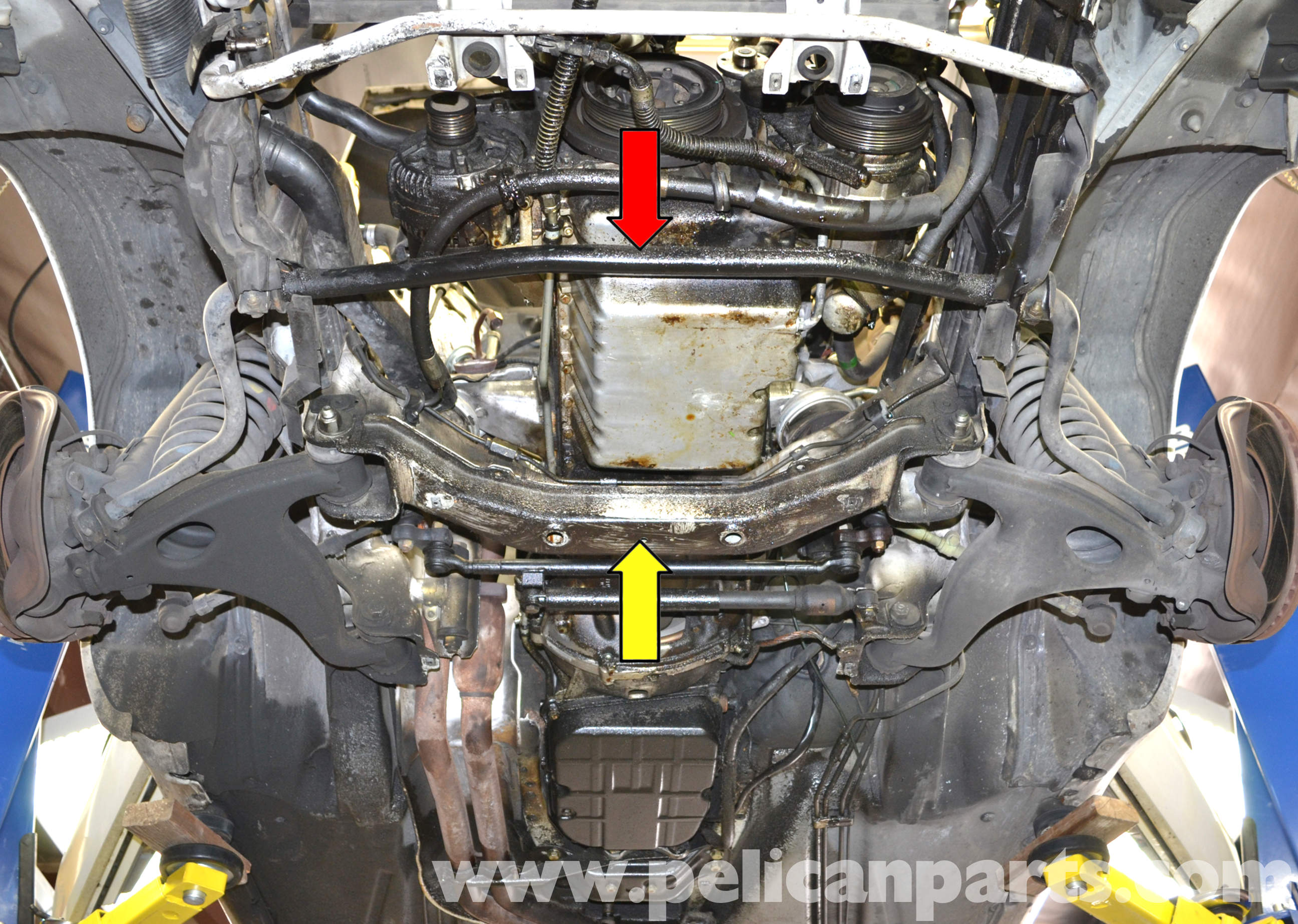 Mercedes Benz W124 Oil Pan Gasket Replacement 1986 1995