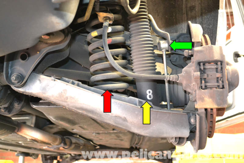 Mercedes benz w124 rear spring replacement 1986 1995 e for Mercedes benz w124 parts