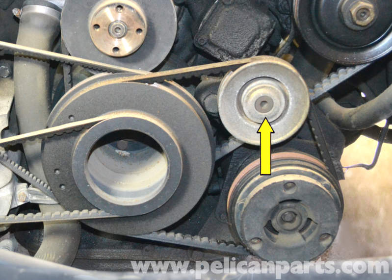 how to open water pump fan of mercedes springter