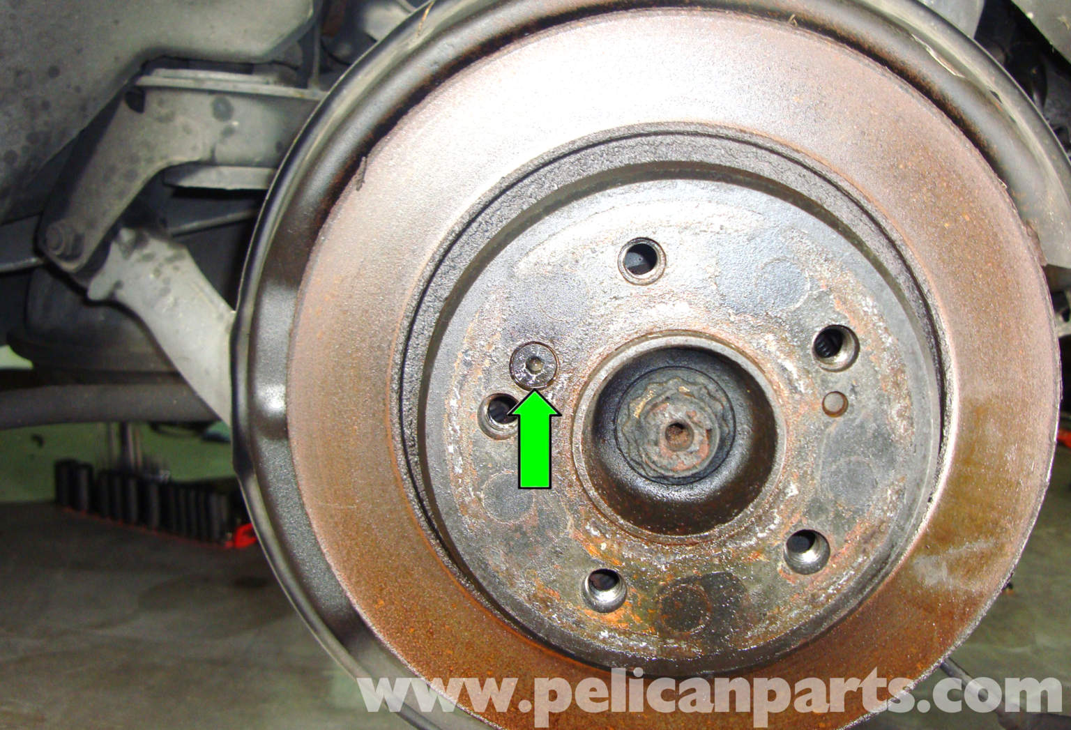 Pelican technical article mercedes benz w129 r129 for Mercedes benz rotors replacement