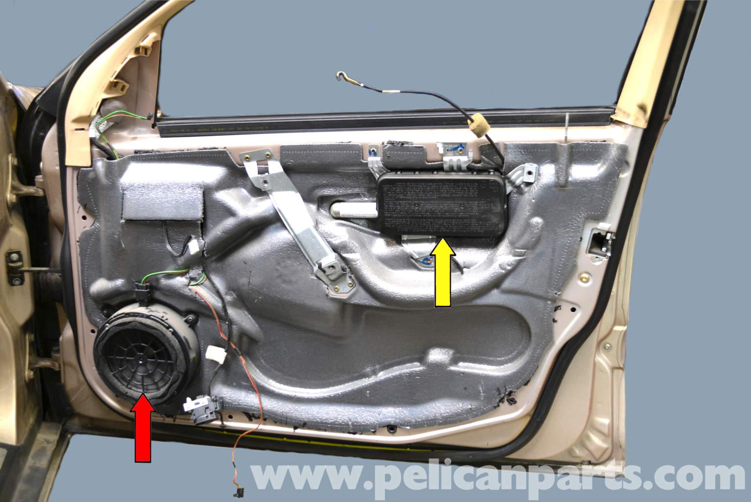Mercedes Benz W203 Front Door Lock Removal 2001 2007 C230 C280