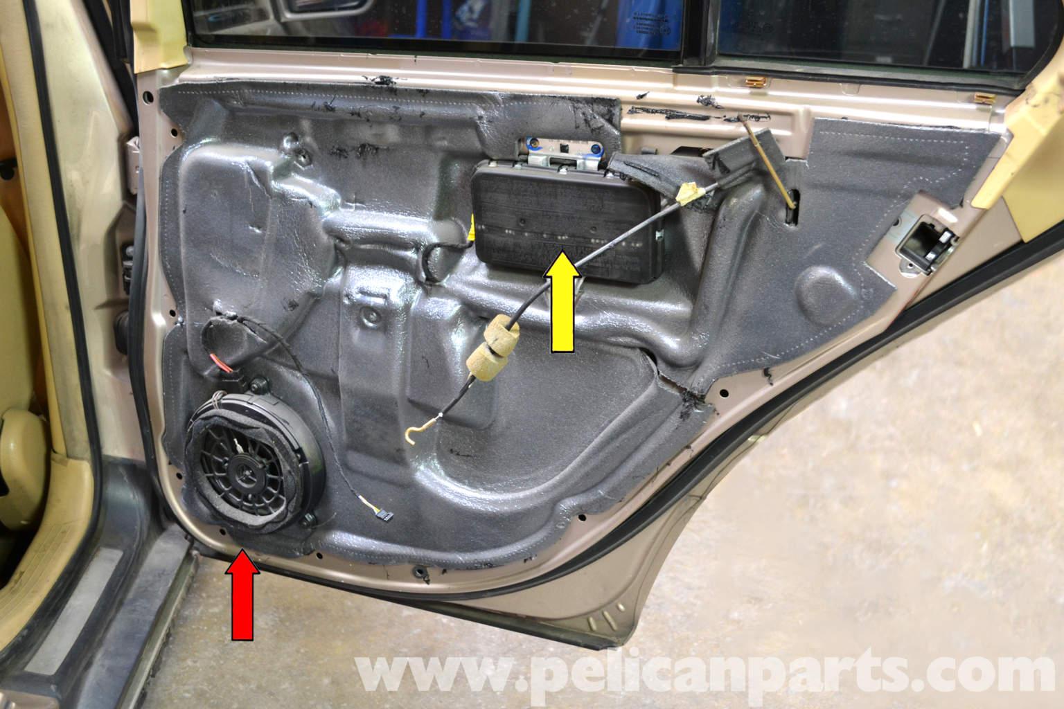 Mercedes Benz W203 Rear Door Panel Removal 2001 2007