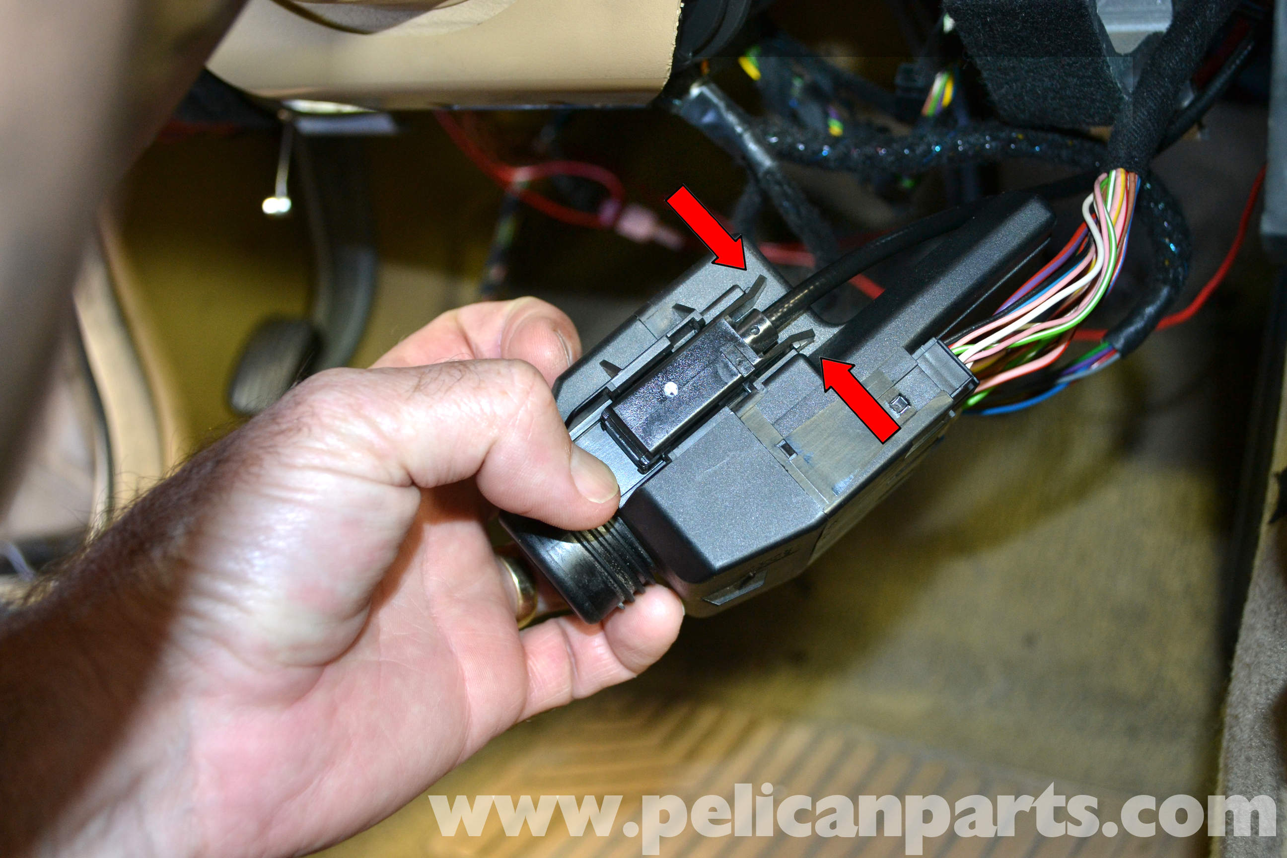 mercedes-benz w203 ignition switch replacement